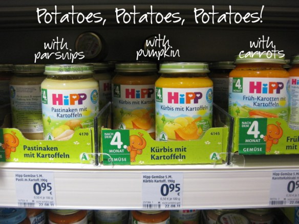 Here are some more potato-laden baby food options.