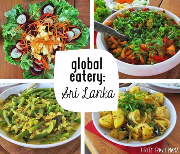Thrifty Travel Mama | Global Eatery - Sri Lanka